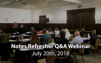 TAKE NOTE! Note Buying Refresher Q&A Webinar