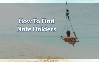 How Do I Find Note Holders?