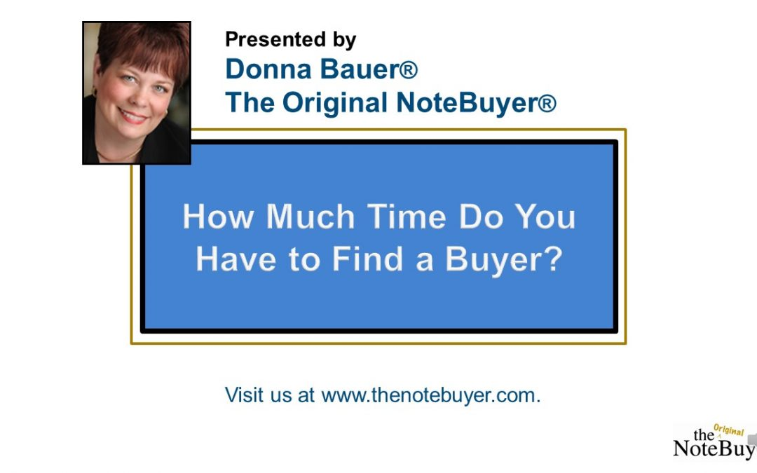 How Much Time Do I Have to Find a Buyer?