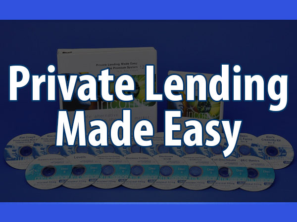 TAKE NOTE! Private Lending Made Easy
